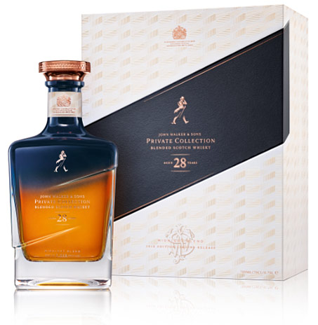 john walker & sons Private collection Midnight blend 28 years