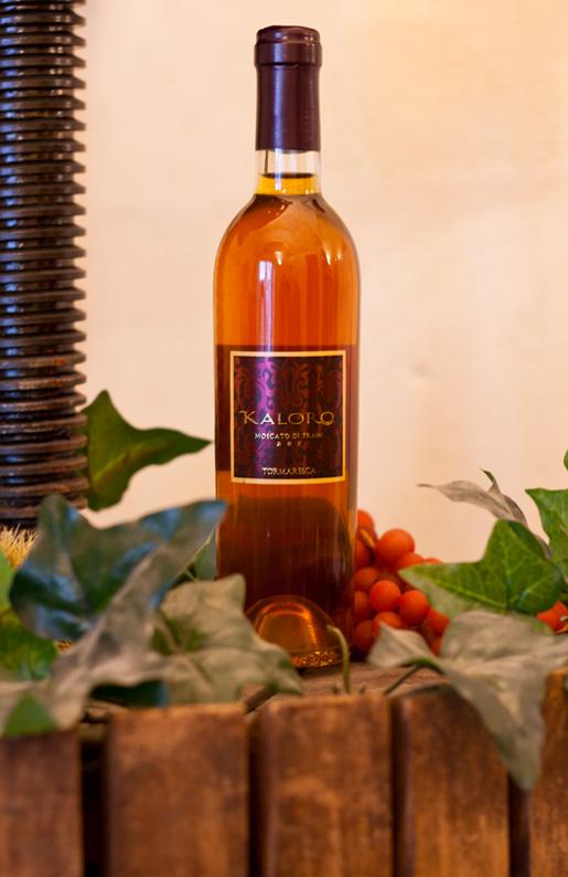 Kaloro 2007 Moscato di Trani Doc, il vino dei dolci Natalizi