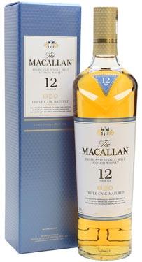 macallan 12 Triple cask whisky