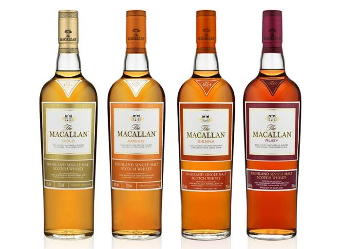 colorazione del whisky