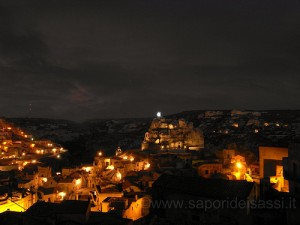 Cartoline da Matera….I Sassi di notte!