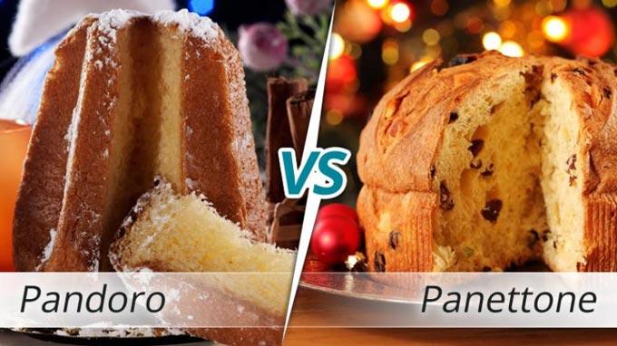 Pandoro vs Panettone