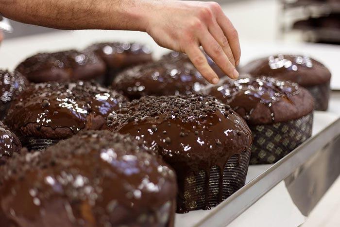 panettoni al cioccolato