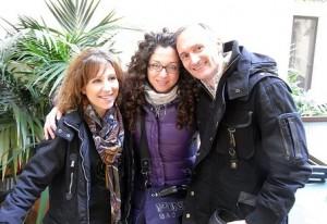 Paoletta, io e Piero a Palermo