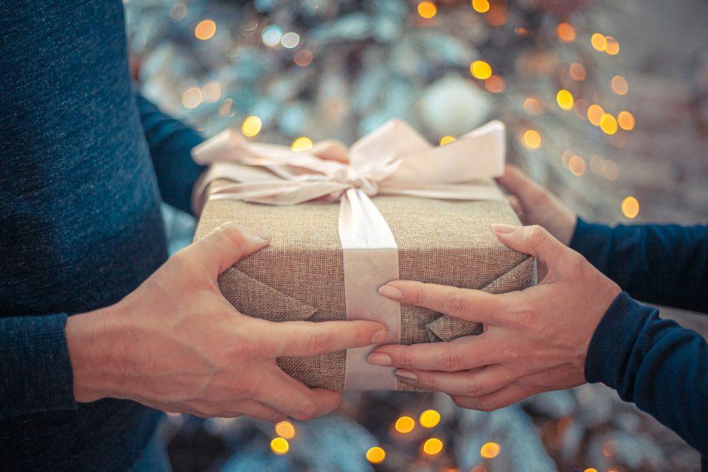 Consegna cesti natalizi a domicilio