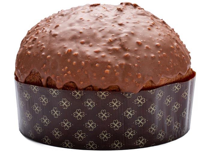 panettone rocher cioccolato e pere calciano