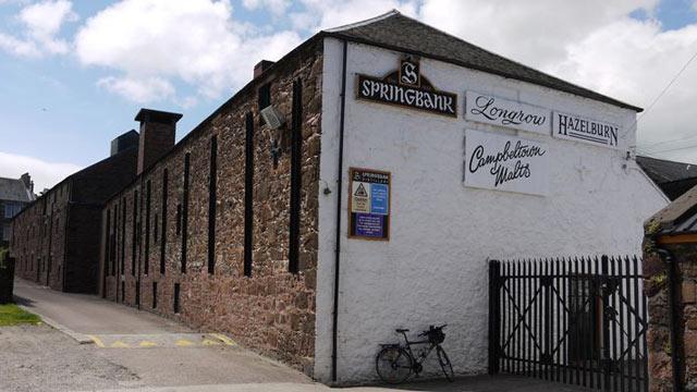 Distilleria Springbank a Campbeltown