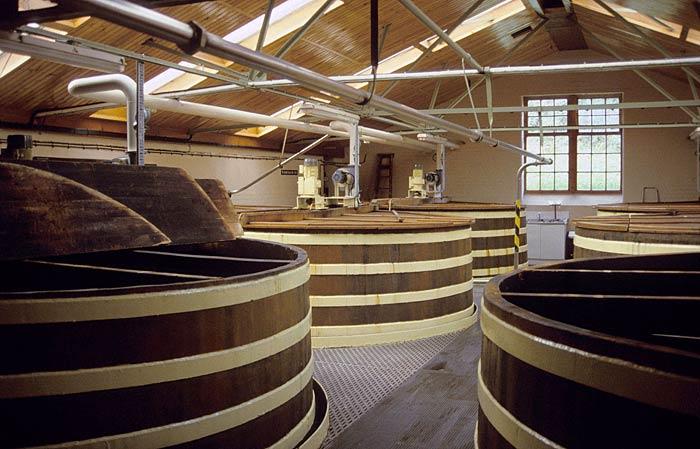 Vasche per la fermentazione del whisky