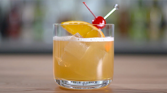 Cocktail Whisky Sour