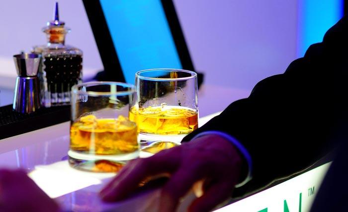 whisky al bar