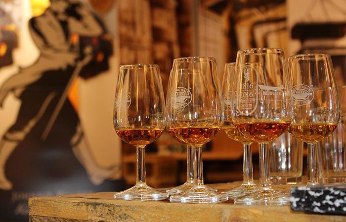 degustazione vari whisky