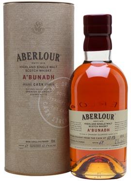 whisky aberlour a'bunadh