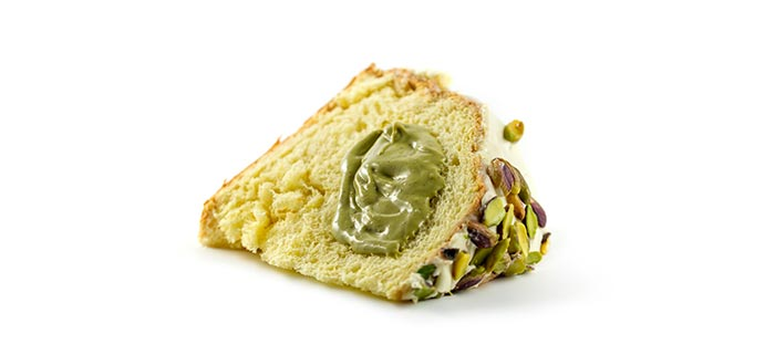 panettone al pistacchio Bonfissuto