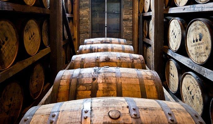botti per invecchiamento whisky