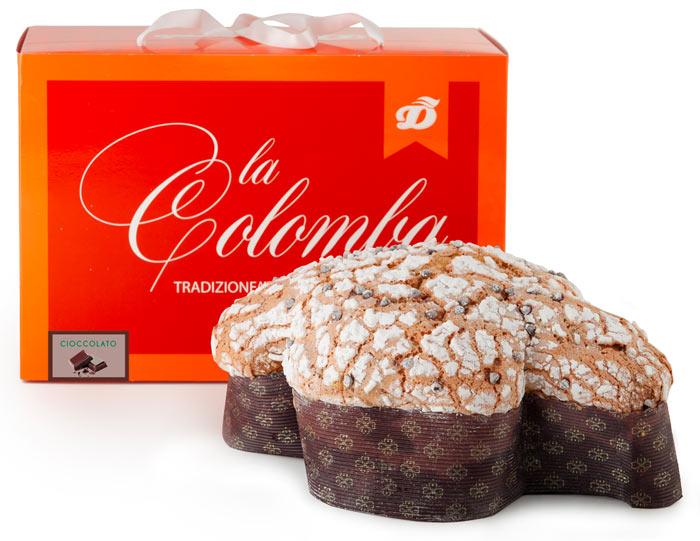 colomba al cioccolato Dolcemascolo