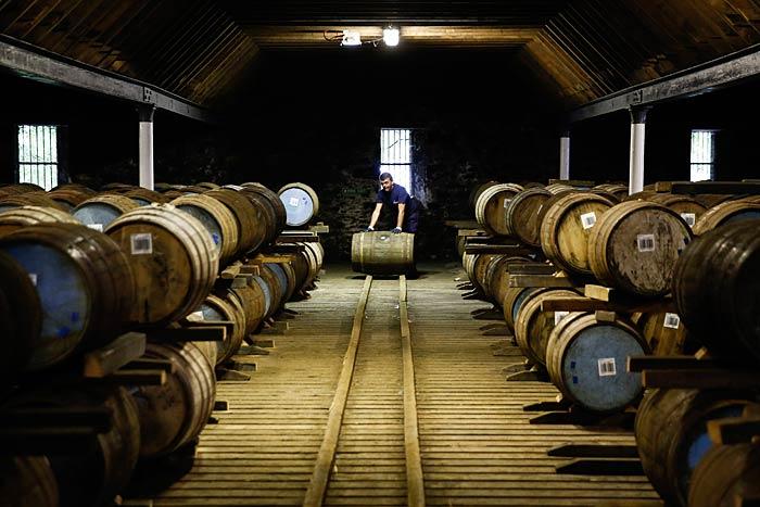 Invecchiamento del whisky