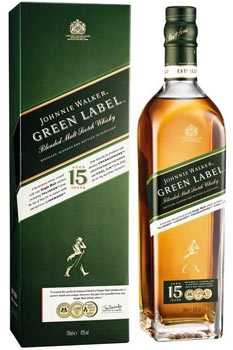 Whisky Johnnie Walker green