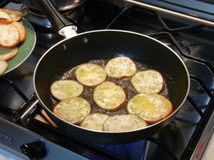 melanzane rosse fritte