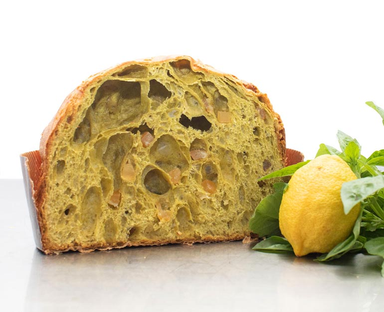 panettone al basilico - Vignola