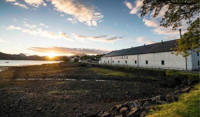 Distilleria Talisker nelle Islands