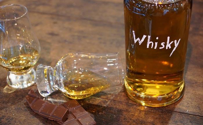 whisky e cioccolato