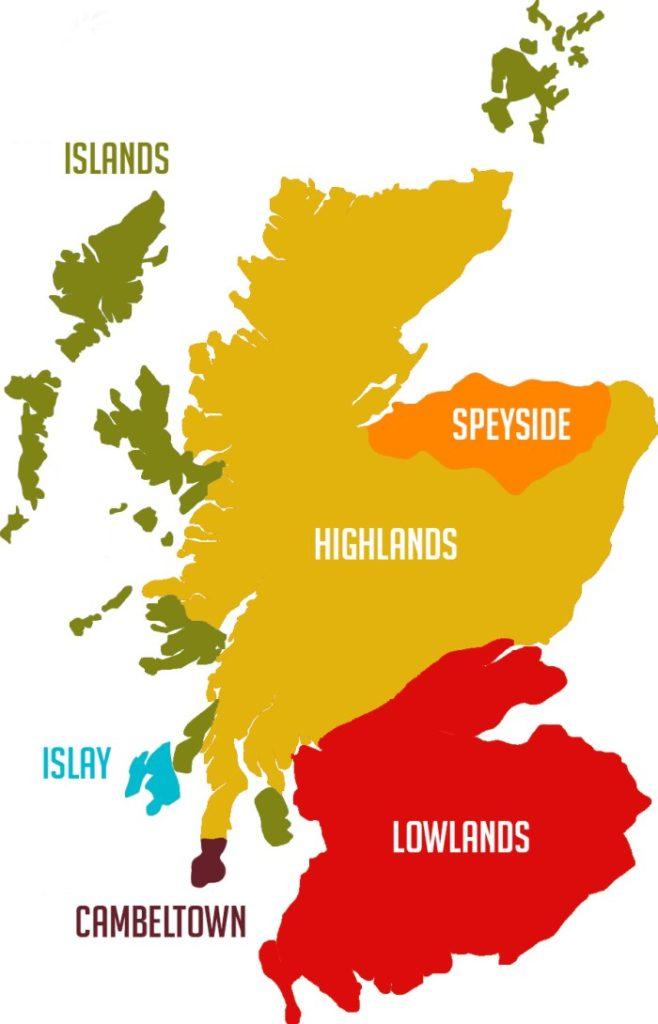 regioni del whisky scozzese